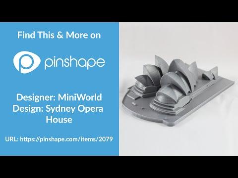 Sydney Opera House 3D Print Timelapse