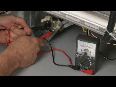 Dishwasher Not Cleaning? Water Valve Testing, Troubleshooting