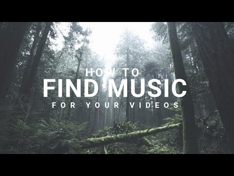 How to find right MUSIC for your Videos.