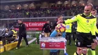 Highlights AC Milan-Torino FC 12th January 2017 Coppa Italia