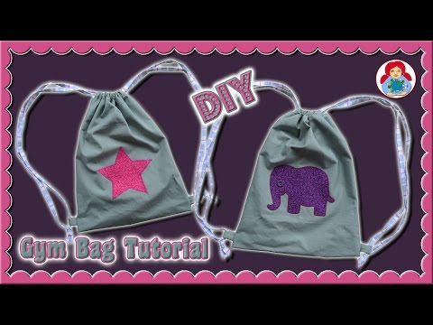 DIY | Gym Bag • EASY step by step tutorial • Sami Doll Tutorials