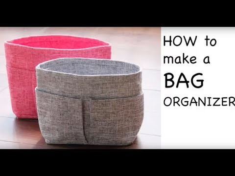 [ Fabric Sewing DIY Tutorial ] - How to Make a Tote Bag Organizer