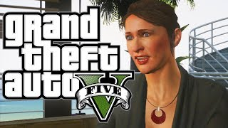 GTA 5 - How to DATE AMANDA (Funny Moments In Grand Theft Auto V)