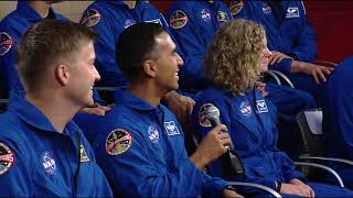 Space Station Crew Discusses Life in Space with NASA