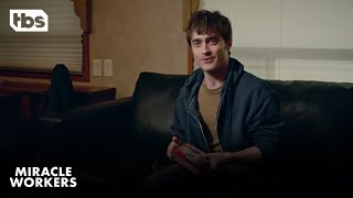 Download Miracle Workers: An Evening with Daniel Radcliffe in a Trailer   TBS Video