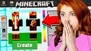 MAKING MY SISTER A MINECRAFT ACCOUNT!