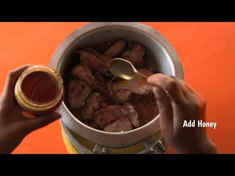 Shamba Bites - Sweet and Sour Chicken with Ugali