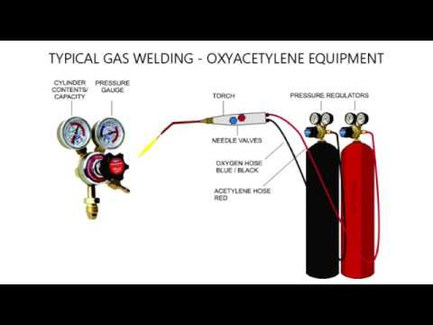 AN INTRODUCTION TO GAS WELDING - OXYACETYLENE