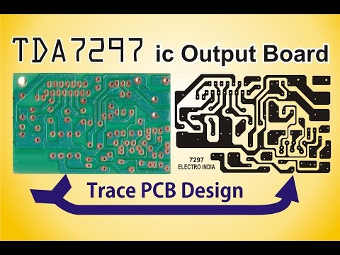 How to Trace PCB Design in CorelDRAW X4 [ELECTRO INDIA]