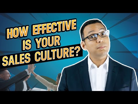 How to Build a Sales Culture Within Organisations - Sales Training Video