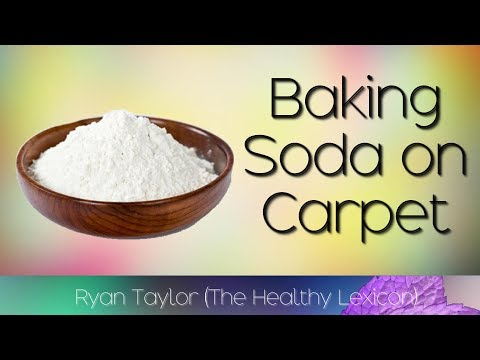 Baking Soda: on Carpet