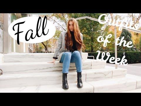 Fall Outfit Ideas 2017! ( OOTW FOR SCHOOL ) | Kaela Kilfoil