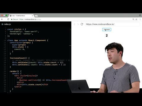 React, Props, State - Lecture 2 - CS50's Mobile App Development with React Native