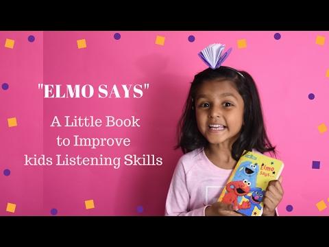 Sesame Street–Elmo Says Children's Books Read Aloud Kids Stories Nanduplaytime