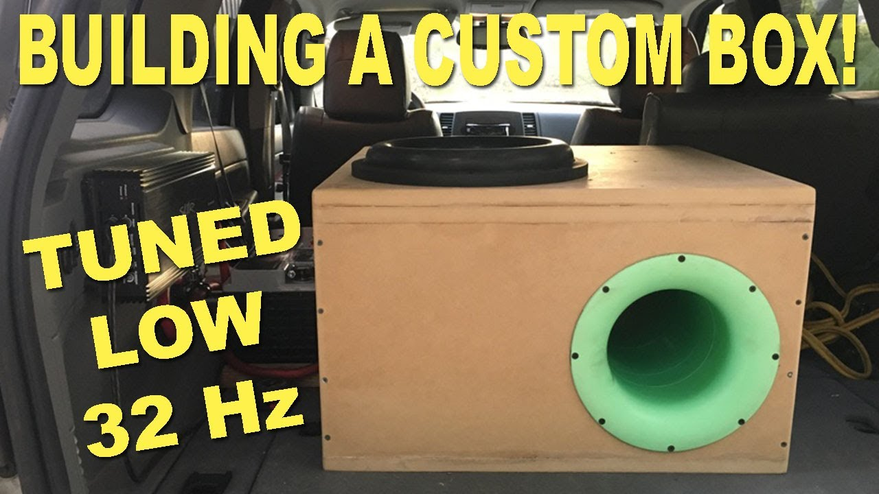 Building a Custom Box! Aeroport | Tuned LOW | How To
