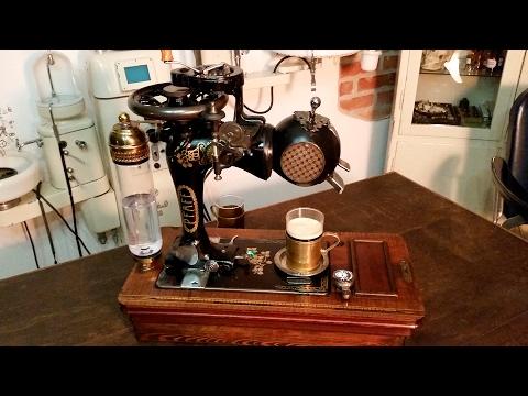 Steampunk Coffee Machine -