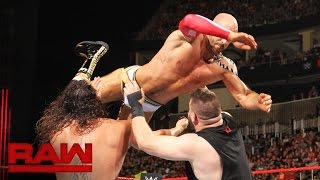 Cesaro vs. Finn Bálor vs. Rusev vs. Kevin Owens - Fatal 4-Way Match: Raw, July 25, 2016