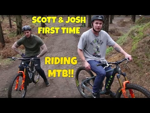 FIRST EVER RIDE ON MTB!?