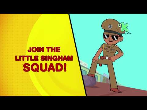 Little Singham Squad   Little Singham Coming Soon to Your School   Discovery Kids