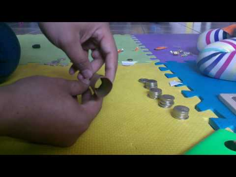 make Canadian coin rolls using universal wrappers.