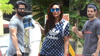 SPOTTED: Kareena Kapoor Khan, Amrita, Shahid-Mira, Farhan, Sooraj Post Their Gym Session   SpotboyE