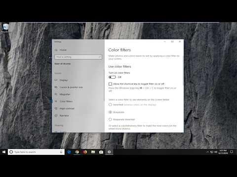 Windows 10 Desktop Went Black And White No Color FIX