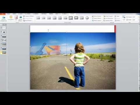 Create a Fade Effect on an Image in PowerPoint