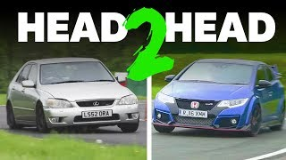 Can My Built IS 200 Beat A Civic Type R On Track?