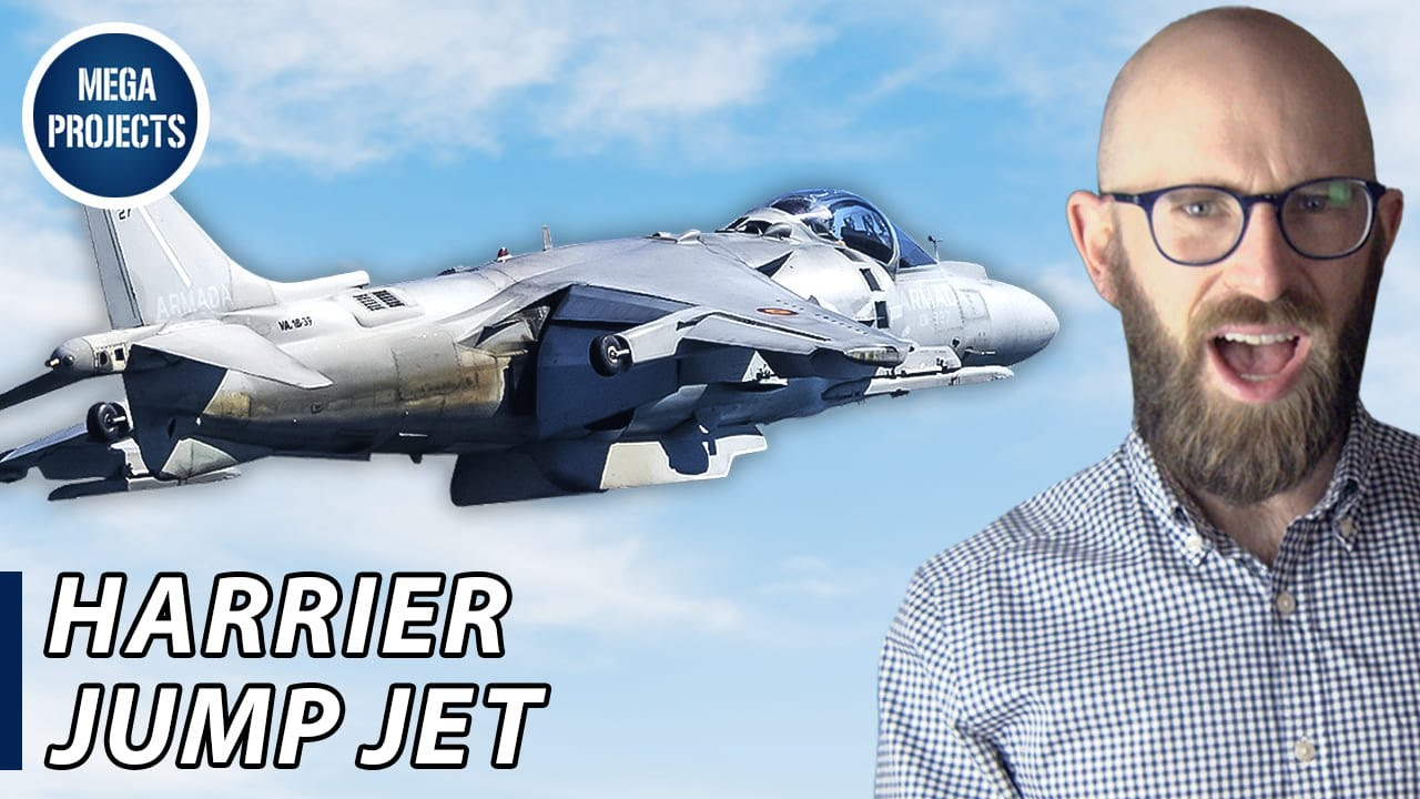 The Harrier Jump Jet: How Cold War Anxiety Inspired a Vertical Takeoff