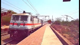 Furious Action of Raigarh-Gondia Jan Shatabdi Express with BIA WAP-7