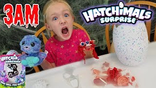 Do Not Play With New Twins HATCHIMALS SURPRISE EGGS at 3AM! Scary Challenge Gone Wrong!!!