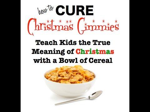 Christmas Sunday School Object Lesson