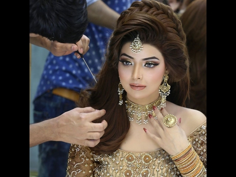 Stylish bridal pakistani wedding hair styles , Tips for choosing hairstyles ideas