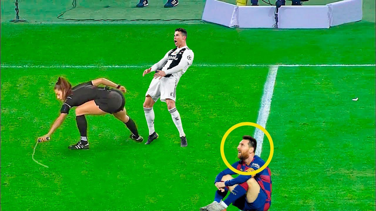 What Happens in Football When The Referee is a Woman