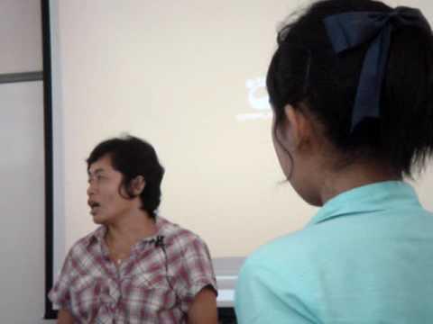 Nutjarin teach Biology with MS 6 2009