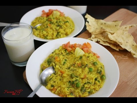 Palak Khichdi | Nutritious Rice and daal with vegetables | Masala Khichdi