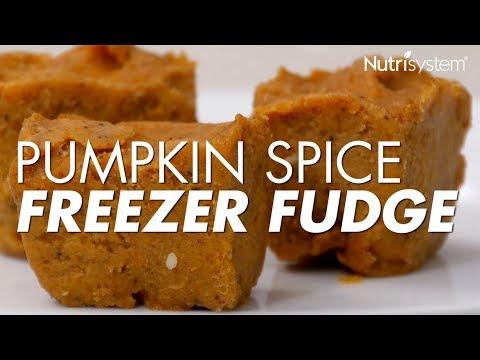 Pumpkin Spice Freezer Fudge Recipe