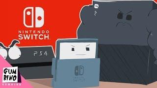 Nintendo Switch vs PS4 vs Xbox ONE (nintendo switch trailer parody)