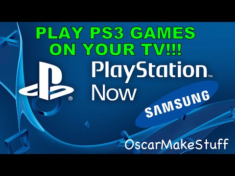 How to play PS3 games on your Samsung or Sony Smart TV using PS Now!