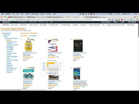 How to chose a category for your Kindle book in order to help become a best selling author