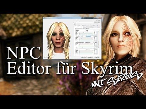 SKYRIM - NPC Editor Tutorial für Anfänger