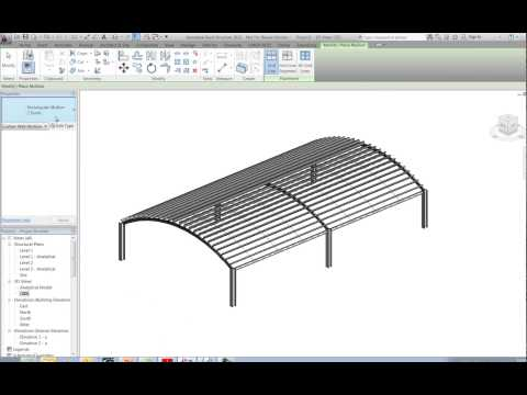 Purlins on Curved Roof