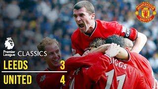 Leeds United 3-4 Manchester United (01/02) | Premier League Classics | Manchester United