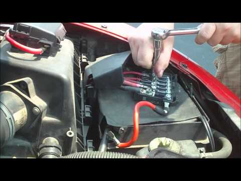 VW Battery Top Fuse Box Replacement - MTP