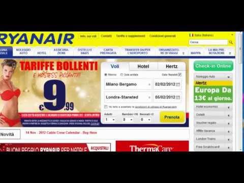Ryanair: Come fare il Check in Online - Aggiornamento