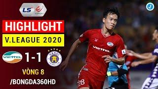 Highlight | Viettel 1-1 Hà Nội | Vòng 8 V.League 2020 | Derby Hà Nội cân tài cân sức