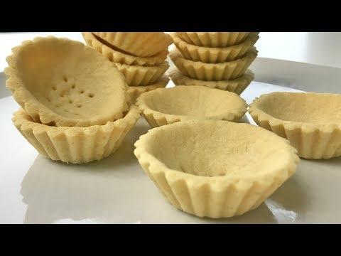 Fail Proof Easy & Quick Tart Shell Recipe   Resepi Kulit Tart Mini Mudah & Cepat