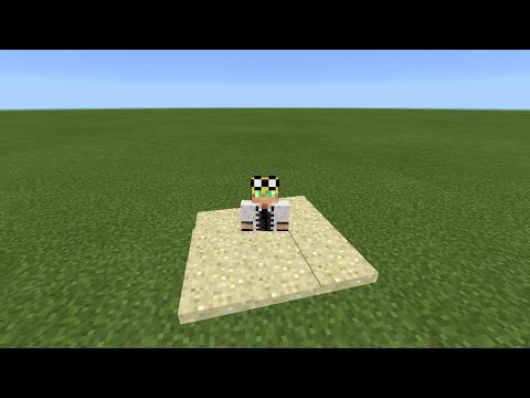 How to make quicksand | Minecraft pe