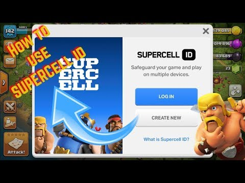 How to use SUPPERCELL ID ......