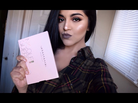 Anastasia Beverly Hills x NICOLE GUERRIERO GLOW KIT   Swatches & Review